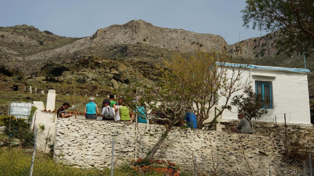 Ολλανδοί εθελοντές καθαριζουν μονοπάτια στην Άνδρο 7 Απριλίου 2016 Τρομάρχια Καππαριά Γιάλια andros routes vanglouk androsfilm.gr (4)