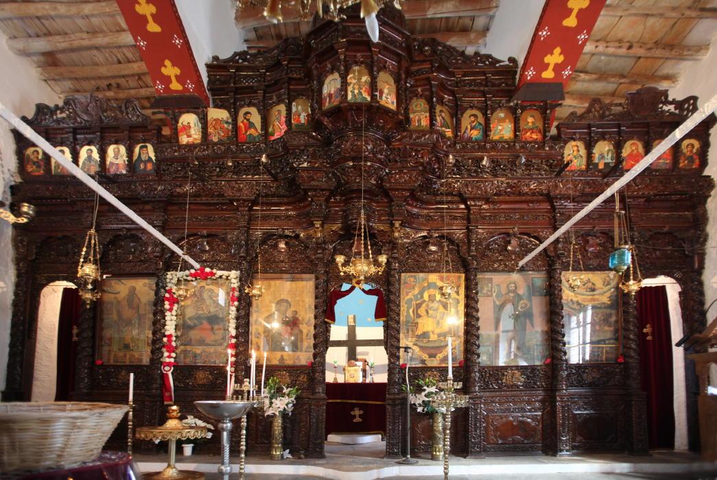 Μονή παναγίας τρομαρχίων Άνδρου πανηγύρι δευτέρα του Πάσχα 2 Μαΐου 2016 VANGLOUK ANDROSFILM