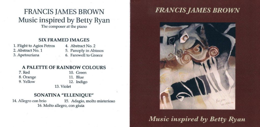 francis james brown in Andros with betty ryan androsfilm vanglouk (1)