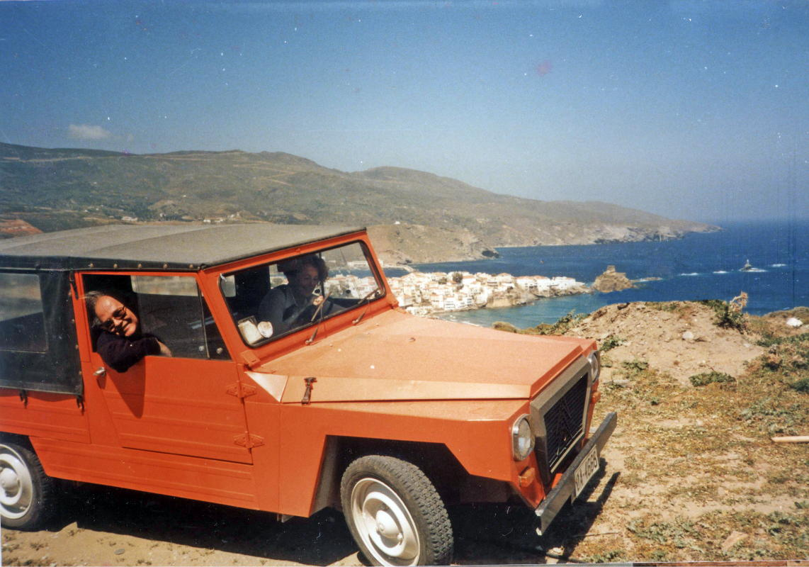 francis james brown in Andros with betty ryan androsfilm vanglouk (3)