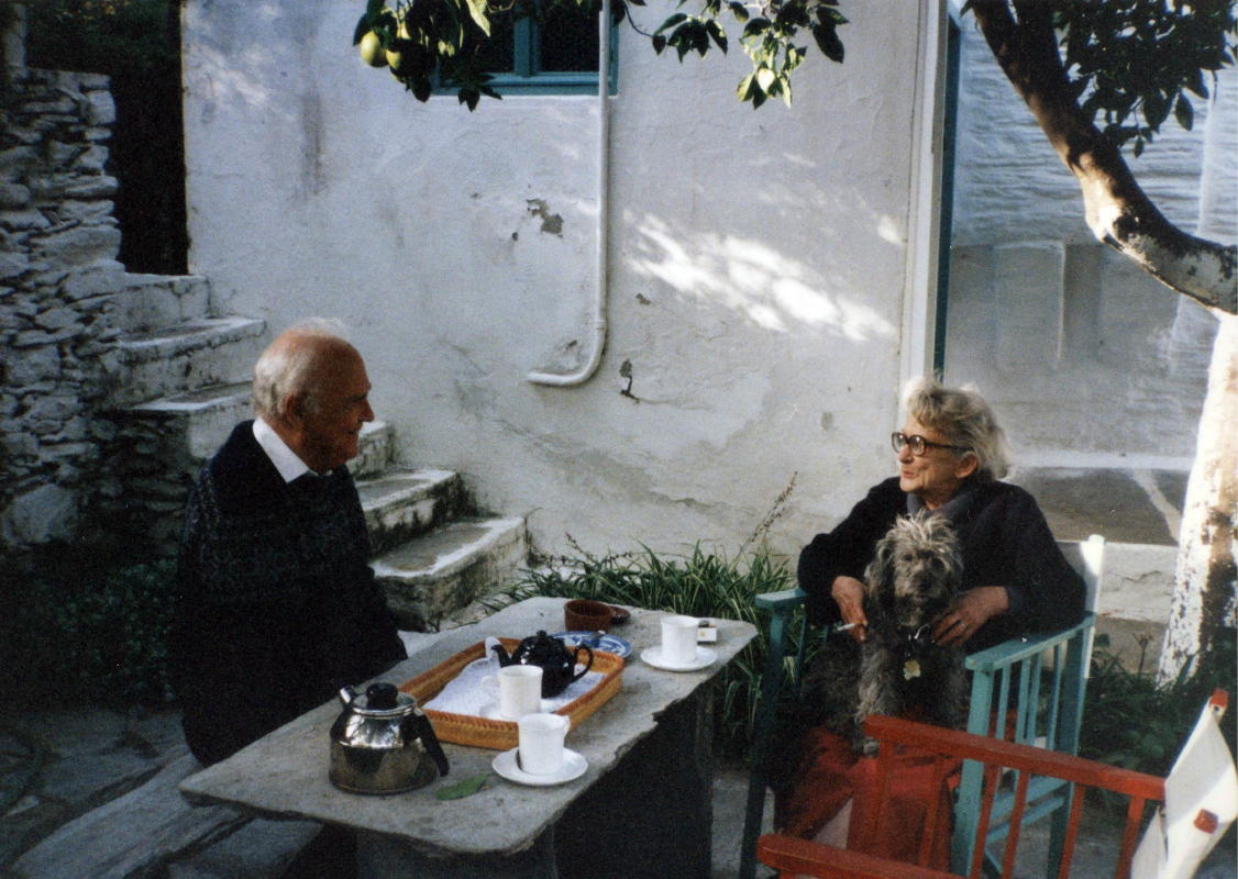 francis james brown in Andros with betty ryan androsfilm vanglouk (4)