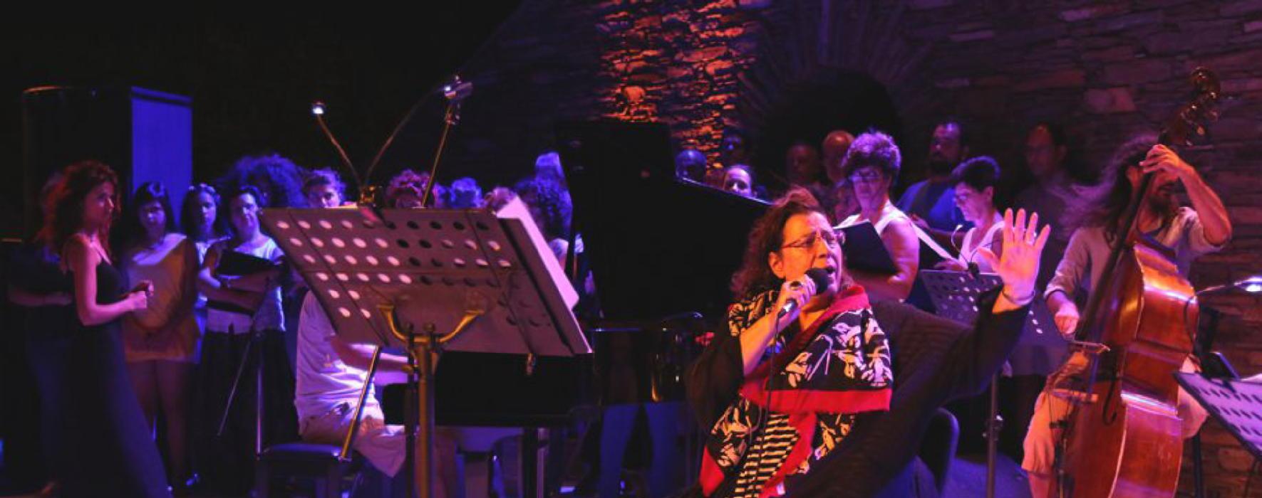 παραμονή συναυλίας Μαρίας Φαραντούρη  στην Άνδρο vanglouk androsfilm (1)