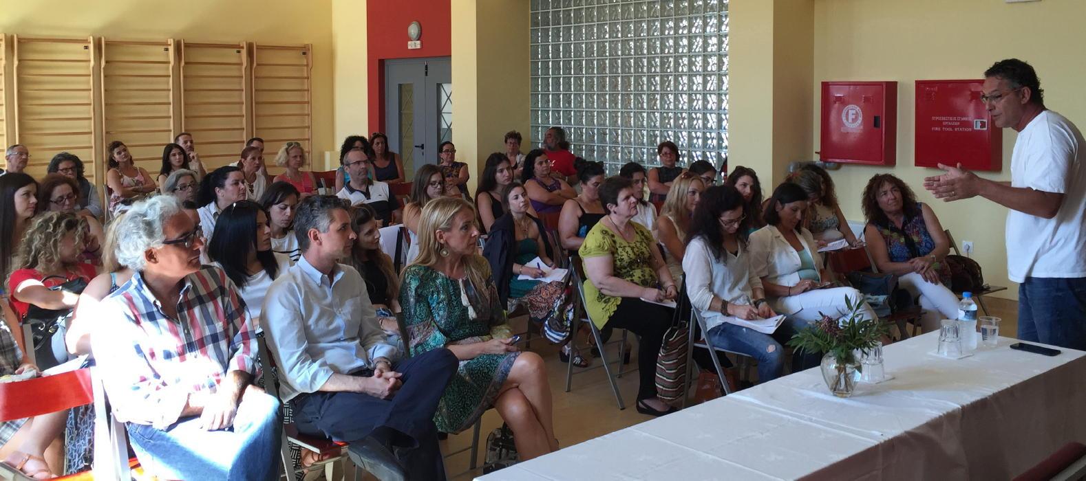 2ο θερινό Πανεπιστήμιο  στην Άνδρο july 2016 vanglouk androsfilm  (5)